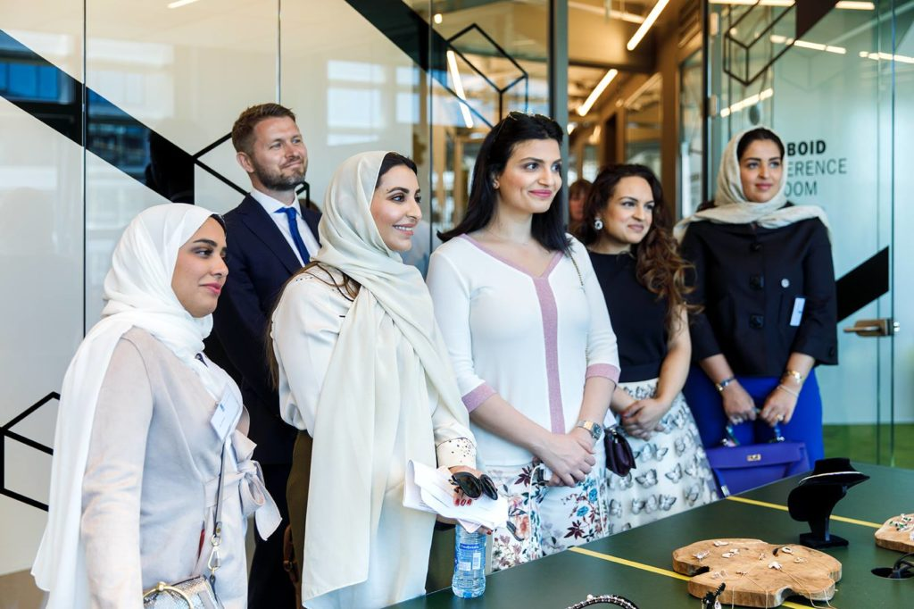 Innovation Visitors Bureau guests visit CIC Rotterdam office